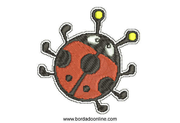 Bordado de Araña Infantil