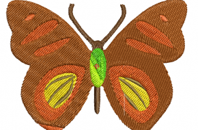 Descargar Bordados de Mariposas Gratis