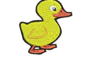 Diseño de Pollito Infantil Listo para Bordar