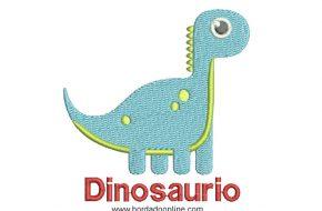 Diseño Bordado de dinosaurio para Bordar