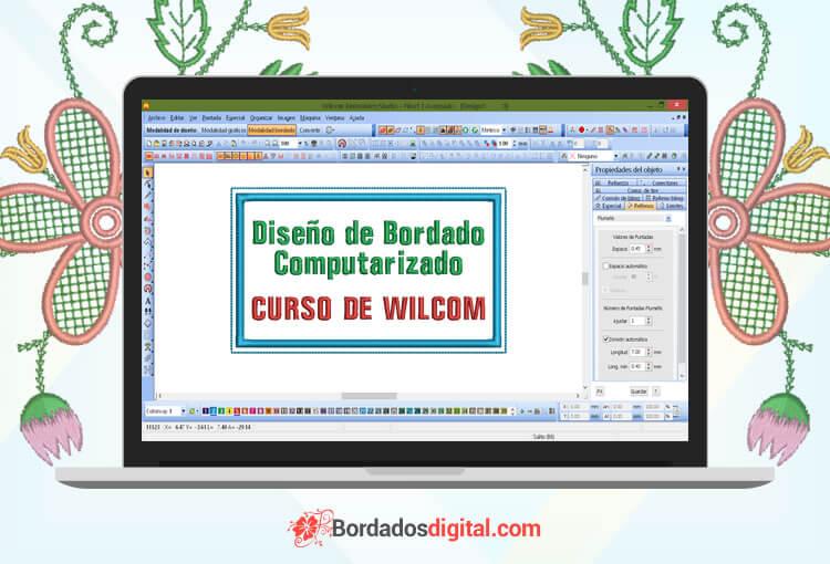 Curso de bordado computarizado wilcom