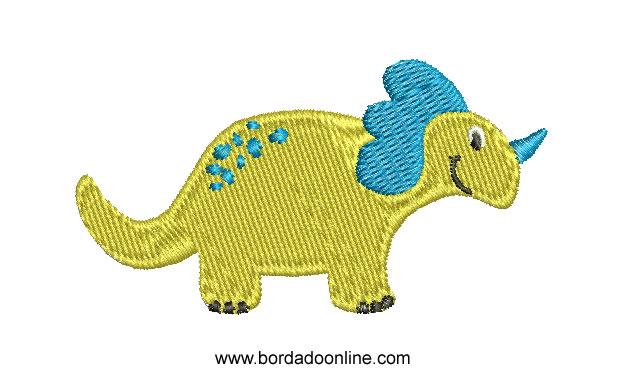 Diseños de bordado de dinosaurios