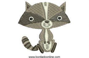 Lindo Diseño Bordado de Gato Infantil
